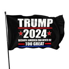 New listing 3x5ft Trump 2024 President Flag ,Rules have changed Take America Back Anti Biden