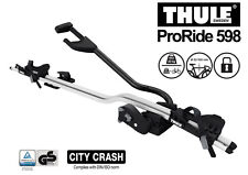 THULE ProRide598001 -Silver roof top upright bike carrier-City Crash tested