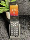 Alcatel Go Flip - Black- (Consumer Cellular) Flip Phone 4044L -Working! photo