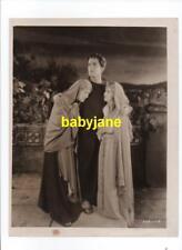 RAMON NOVARRO MAY McAVOY CLAIRE McDOWELL VINTAGE 8X10 PHOTO 1925 BEN-HUR