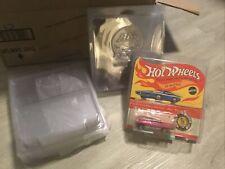 NEW Protech Hot Wheels Redline Protector Pack Blister Pack BP Card Case Lot Of 5