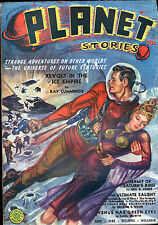 PLANET STORIES Pulp Magazine Vol 1 #4 FALL 1940