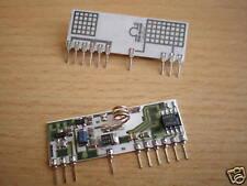Receptor de PCB pequeño ancho de banda de 418 Mhz 5V 10Hz a 6kHz Z1001 2 piezas