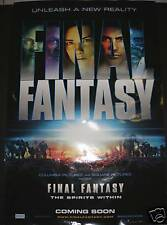 Final Fantasy: The Spirit Within (2001) MOVIE POSTER