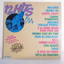 """33T Gilles PELLEGRINI Disque LP 12"""" 12 HITS TELE RADIO N° 96 - TRETEAUX 6604"""