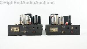 RCA MI-1356 Vacuum Tube Monoblock Amplifiers for PG-200 EQ - Vintage