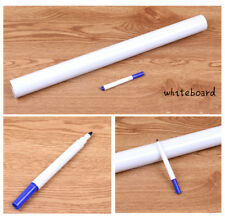 Whiteboard Wall Sticker Peel and Stick Easy PVC 3 Free Marker Pen 45cmx200cm