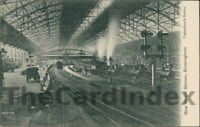 BIRMINGHAM New Street Station Postcard WARWICKSHIRE Valentine's Co Steam Train
