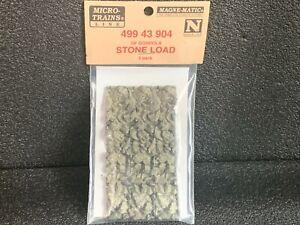 N Scale Micro-Trains Stone Load 3-pack 499 43 904- Rocks