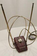 Vintage 50's REMBRANDT Bakelite Rabbit Ears Indoor TV Antenna