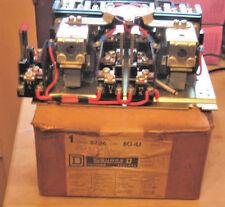 SQUARE D A.C MAGNETIC REVERSING STARTER CLASS 8736 TYPE BO-4J 3 POLE 5HP