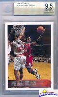 1996/97 Topps #139 Michael Jordan BGS 9.5 GEM MINT Chicago Bulls HOF