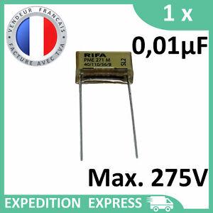 1 Capacitor Rifa PME 271 M X2 0, 01µF 0.01µF 10nF 10n 275V Sh 250V