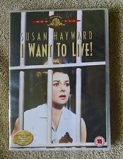 I Want to Live! Susan Hayward MGM DVD Region 2 PAL