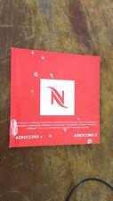 aeroccino + & aerocinno 3 & my machine (delonghi nespresso) D50 instructions