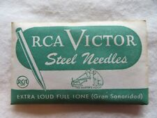 Antique Victrola Needles Sealed New Old Stock RCA Sealed Packs 100 Count #9136