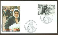 Vatican City Sc# 1117, Kosovo 1999 on First Day Cover