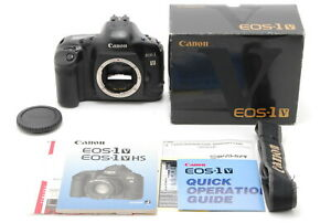 *NEAR MINT IN BOX*CANON EOS 1V EOS-1V 35mm SLR Film Camera From Japan #FedEx