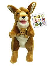 Flat Friends Wallaby hand puppet