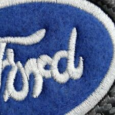 Set of NEW Black FORD Carbon Look Seat Belt Cover Shoulder Pads Embroidery Logo