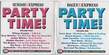 PARTY TIME - PROMO 2 CD SET: GLORIA GAYNOR, JACKIE WILSON, HEATWAVE, THE NOLANS