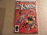 The Uncanny X-Men #225 (Marvel 1988) Fall of the Mutants / Free USA Shipping