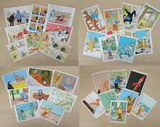 New Collectable Set Of 8 TinTin Different Image Postcards 8 Designs Gift Fun