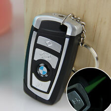 BMW Car Key Style Windproof Lighter Jet Torch Gas Butane Cigarette Lighter