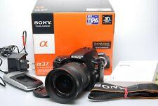 Sony Alpha 37 mit Sony 18-55mm KIT