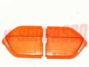 Plastic Lights Rear Orange Fiat 124 Coupe 1 Series Lamborghini Espada