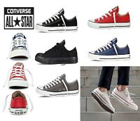 Original Converse Unisex Chuck Taylor Classic All Star Lo Hi Tops Canvas Trainer