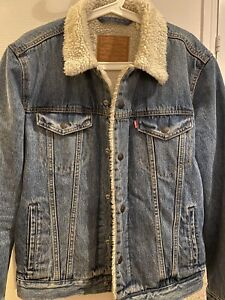 Levi Straus & Co Sherpa Denim Jacket