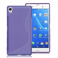 HOUSSE ETUI COQUE SILICONE GEL SONY ERICSSON XPERIA  Z3 VIOLET