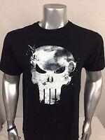 THE PUNISHER by MARVEL Comics Men's Graphic T-Shirt Size Large Black EUC