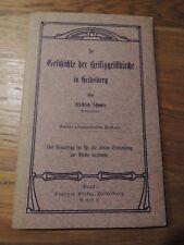 Geschichte der Heiliggeistkirche in Heidelberg von 1906 Selten