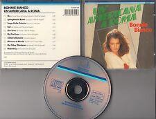 Bonnie Bianco CD UN AMERICANA A ROMA  (c) 1985/87