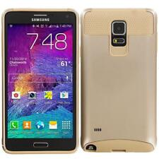 Gold Fitted Cases/Skins for Samsung Galaxy Note 4