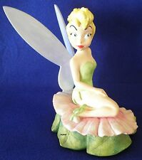 Disney Peter Pan Tinker Bell Fairy Figurine Large Retired Hard To Find Excellent