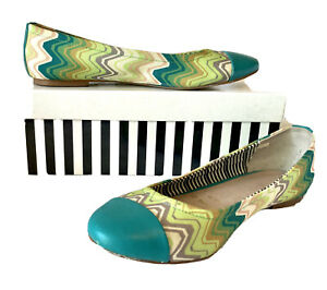 MISSONI (for Target) STUNNING BALLET FLATS, Sz 38 (7), Must Have! VGC.