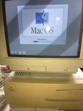 Great Vintage Macintosh Centris 650 Computer Full Set. Tested & Works Perfect!