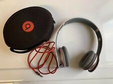 Beats by Dr. Dre Solo HD Headband Headphones White Pre-Owned