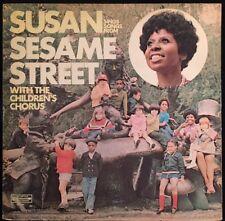 Susan Sings Songs from Sesame Street with the Children's Choir - VG Vinyl LP