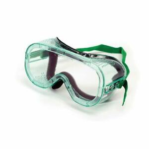 Sellstrom Green-Tinted Direct Vent Protective Safety Goggles S81310