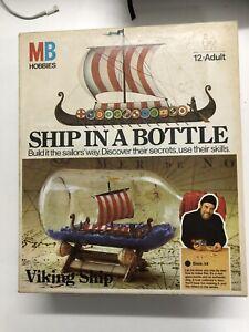 MB Hobbies Viking ship in a bottle