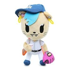 "Tokidoki Los Angeles Dodgers Savannah Cat Mascot Plush 8"" Mancave Nwt 2014 Htf"