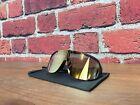 Black POC Aspire Sunglasses Uranium Black Gold Mirror Cycling Road Bike Glasses