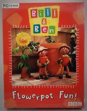 BBC Bill & Ben Flowerpot Fun! PC CD ROM,Kids,Family,Computer Games,Fast Free P&P