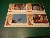 original group of 4 Lobby Cards together: 1979 THE IN-LAWS peter falk, alkin