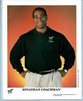 WWE JONATHAN COACHMAN P-658 OFFICIAL LICENSED 8X10 ORIGINAL PROMO PHOTO RARE