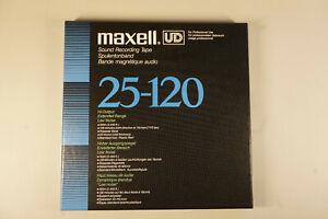 Tape MAXELL UD 25-120 Hi Output extended range low noise Tonband neuwertig